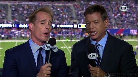 Here's a Joe Buck Story About Pissing While Calling a Packers Game -- We know you hate Joe Buck, but this is a good Joe Buck story. He made this call in a Green Bay Packers game while pissing in a garbage can. Listen.