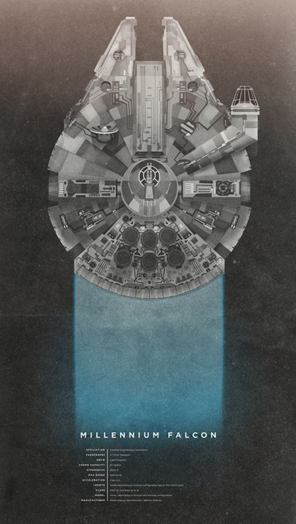 Millennium Falcon.Geek, Millennium Falcons, Up North, Art Prints, Graphics Design, Star Wars, Stars Wars, Millenium Falcons, Starwars