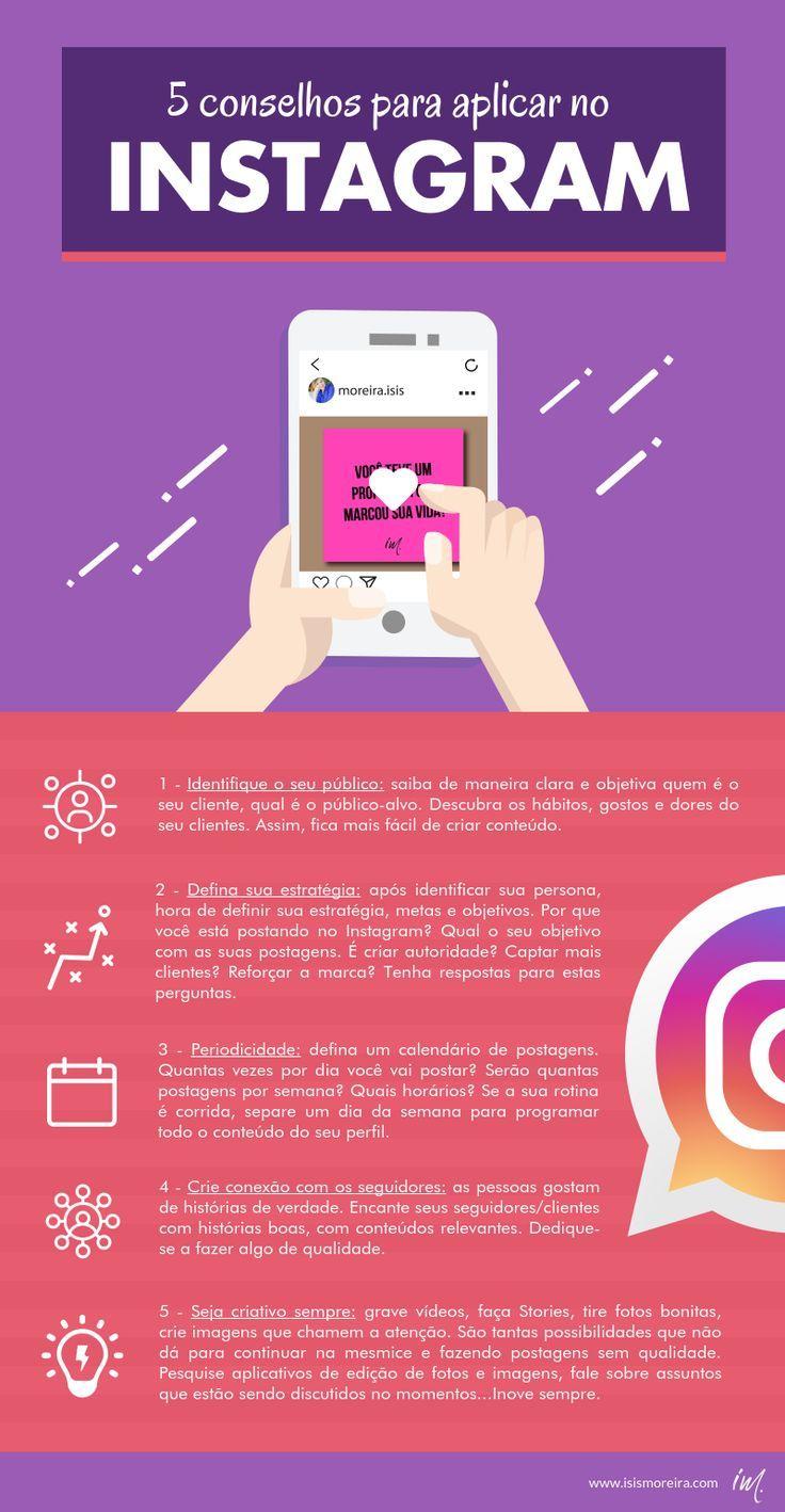 10 Dicas Para Conquistar Mais Seguidores No Instagram Dicas De