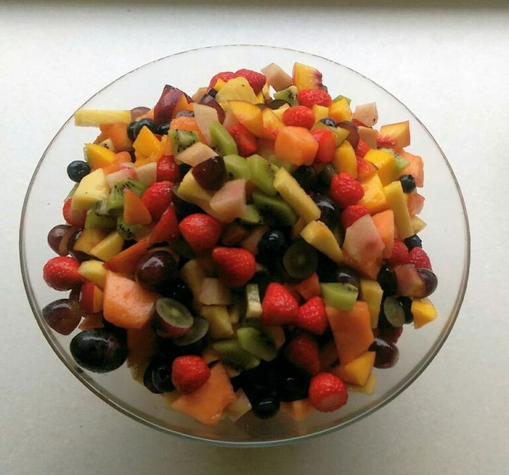 Very fruity fruit salad!