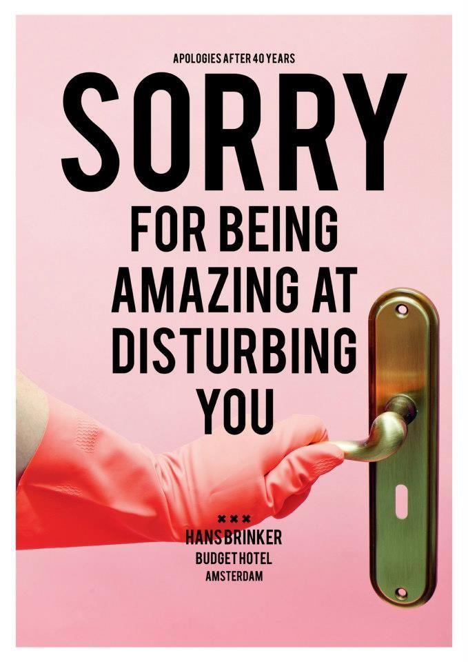 """Essay om """"Sorry For Disturbing You"""" af Richard Knight"""