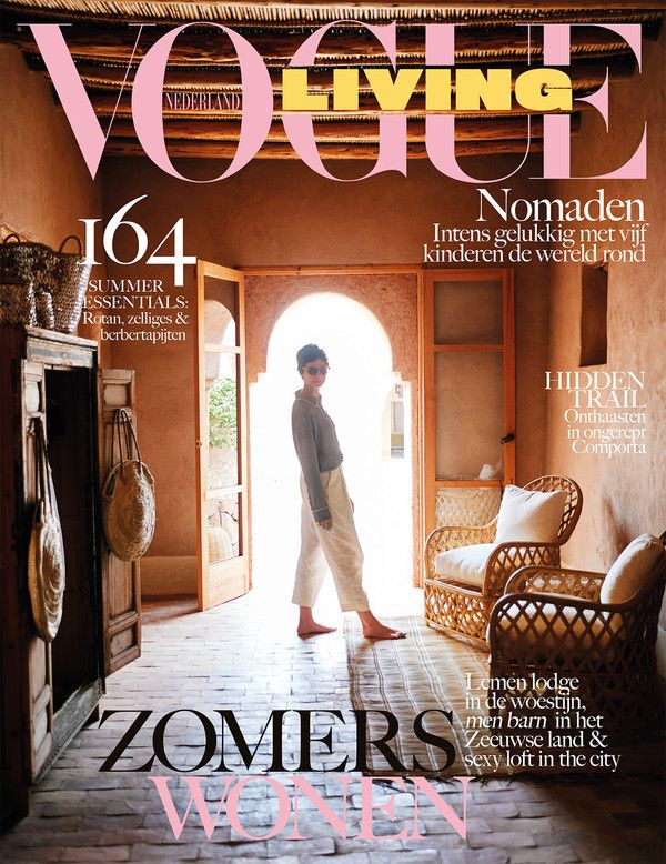 Het Tafelbureau featured in this months Vogue Living