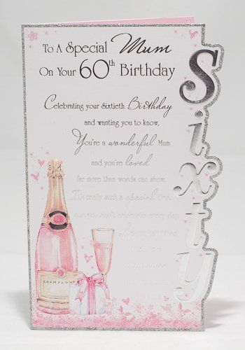 21 best mums 60th images on pinterest 60 birthday birthdays and special mum on your 60th birthday card beautiful verse three fold card by cards bookmarktalkfo Choice Image