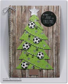 Fußball-Weihnachtskarte für das beste Trainerteam - made-by-imme.de