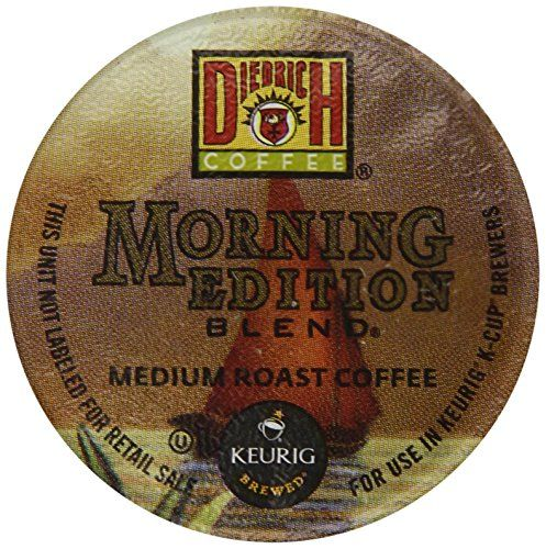 [$8.54 save 62%] Amazon #LightningDeal 95% claimed: Diedrich Coffee Morning Edition Blend 24 Count http://www.lavahotdeals.com/ca/cheap/amazon-lightningdeal-95-claimed-diedrich-coffee-morning-edition/173733?utm_source=pinterest&utm_medium=rss&utm_campaign=at_lavahotdeals