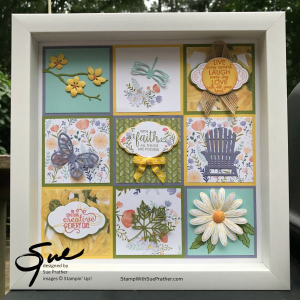 Stampin' Up! Summer Sampler for the Inkin' Krew Blog Hop | Stamp With Sue Prather