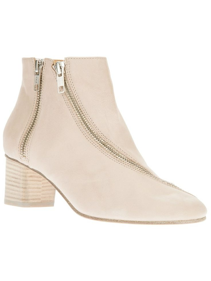 Perfect neutral booties by Acne