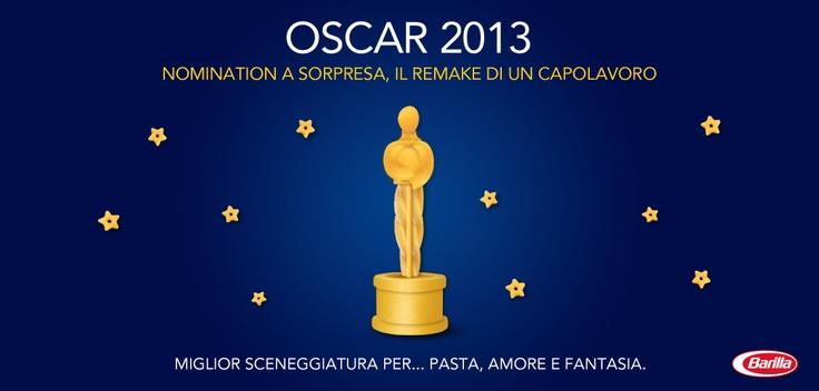 Pronti per la notte degli #Oscar? Noi abbiamo già il nostro vincitore! http://www.facebook.com/Barilla