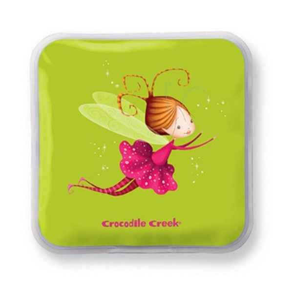 "Crocodile Creek Ice Packs  A great way to keep those school lunches fresh and cool! Our all-new reusable ice packs fit perfectly in Crocodile Creek and most other lunch boxes. Another wonderful addition to our Back-to-School line! Packed in sets of two. Ice Packs are 5""H x 5""W x 2.5""D. Non-toxic and kid safe."