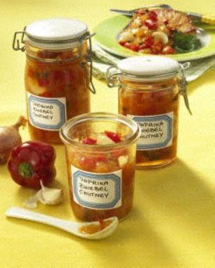 Das Rezept für Paprika-Zwiebel-Chutney und weitere kostenlose Rezepte auf LECKER.de