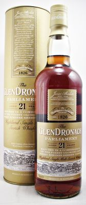 Glendronach Scotch Whisky 21 year old Parliament 48% 70cl