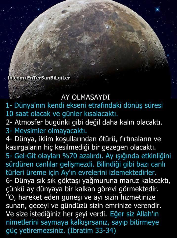 #Ay olmasaydı !