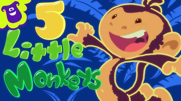 Five Little Monkeys - THE BEST Songs for Children from Hello Mr. Freckles!