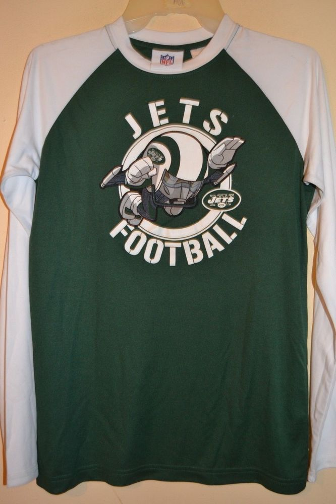 95f835e85 NEW YORK JETS FOOTBALL-BOYS SIZE 14 16   18 20-NFL LICENSED LONG  SLEEVE-NWOT  fashion  clothing  shoes  accessories  kidsclothingshoesaccs  ...