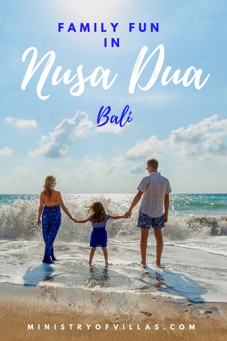 Family holiday in Bali? Check out this fun guide on things to do in Nusa Dua with kids, including family friendly restaurants and family accommodation in Nusa Dua, Bali.