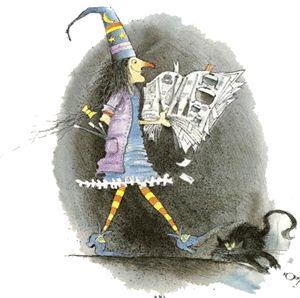 Mi Sala Amarilla: La bruja Berta.