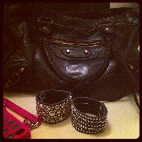 balenciaga black bag,Mia bag cover for Iphone and some accesories