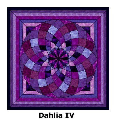 29 best images about Dahlia quilts on Pinterest