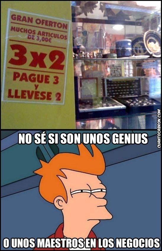 #Genius #humor en español.