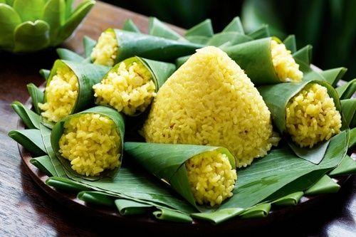 nasi kuning - yellow rice
