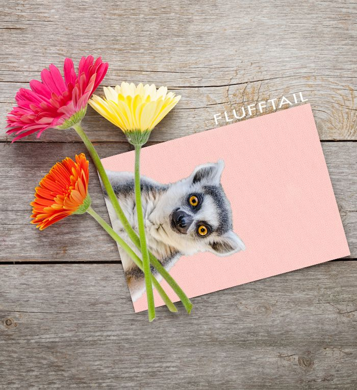 9 best printable greeting cards images on pinterest greeting cards printable greeting cards cute happy smiling lemur m4hsunfo
