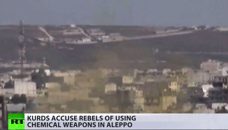 Kurds suffer fresh chemical attacks - accuse Turkey of aiding sarin gas delivery to rebels