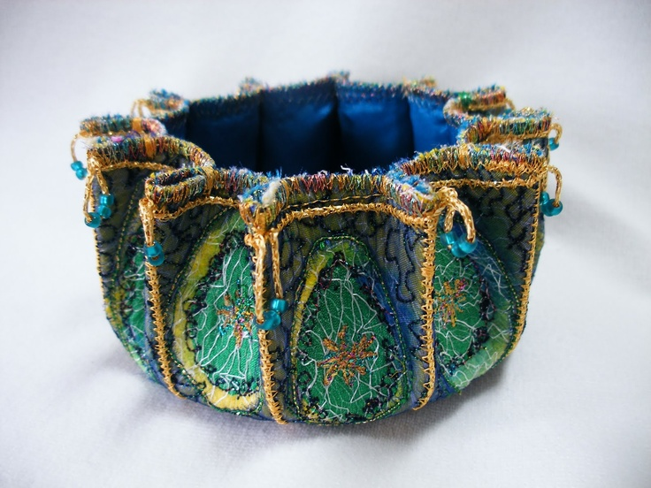 fabulous embroidered bowl