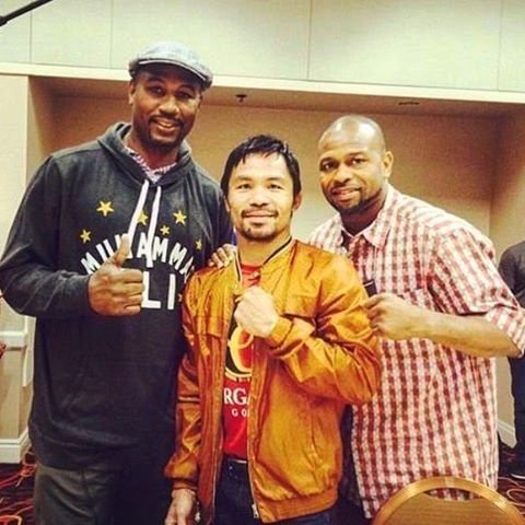 "19.5k Likes, 103 Comments - Manny Pacquiao (@mannypacquiao) on Instagram: ""With the great Lennox Lewis and Roy Jones Jr."""