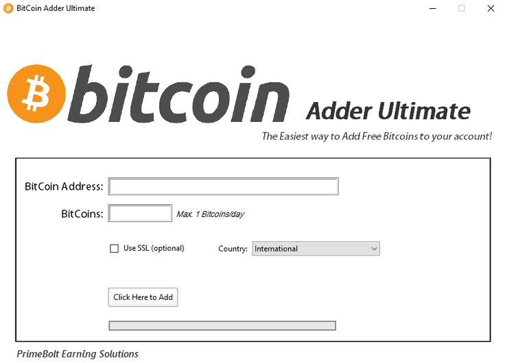 BitCoin Generator or Adder 2016, 2017 NEW No Surveys or No Password Direct Free Download >Download Bitcoin Adder Ultimate< Screenshot of Bitcoin Adder or Generator Ultimate 2017 Download BitCoin Adder Ultimate Free Dont Add More than 2 btc in one day Add  http://www.coolenews.com/get-65000-just-100-investment-no-work/