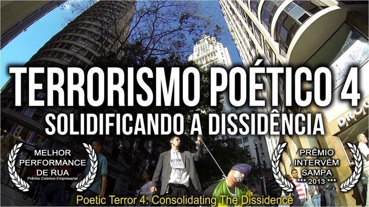 Você é a favor de protestos, performances de arte e ocupação cultural do espaço público e nunca assistiu esse filme??? POSER!!!!