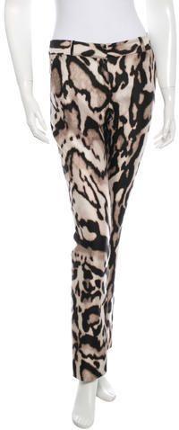 Diane von Furstenberg Mary Mikado Skinny Pants