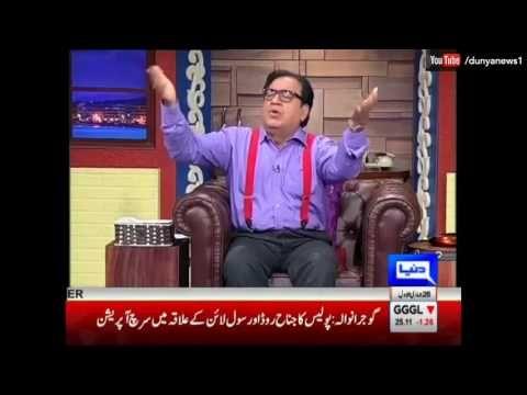 Hasb e Haal - 23 February 2017 - Azizi as Ranjha - حسب حال - Dunya News