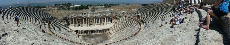Hierapolis pamukkale / türkiye