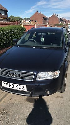 Audi A4 24 V6 Estate Spares Or Repairs Audi A4 Salvage Cars And