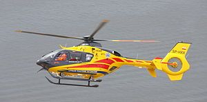 """AirBus/Eurocopter H135 Used as an """"Air Ambulance"""" in Poland"""