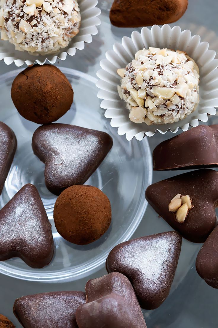 Chocolate Hazelnut Truffles | Candies and Confections | Pinterest