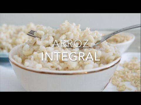 Cómo cocinar arroz integral perfecto (receta fácil & sencilla)