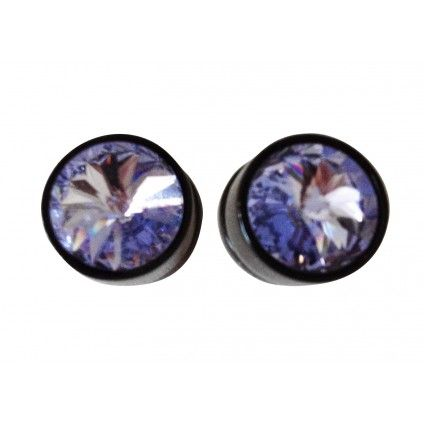 Givenchy blue crystal earrings