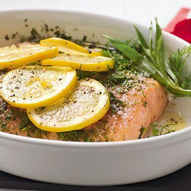 Kräuterlachs aus dem Ofen Rezept | Küchengötter