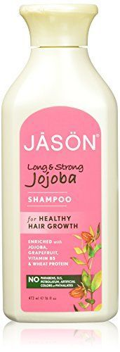 JASON Natural Cosmetics Everyday Hair Care -Natural Jojoba Shampoo, 16 Ounces >>> You can find more details by visiting the image link.