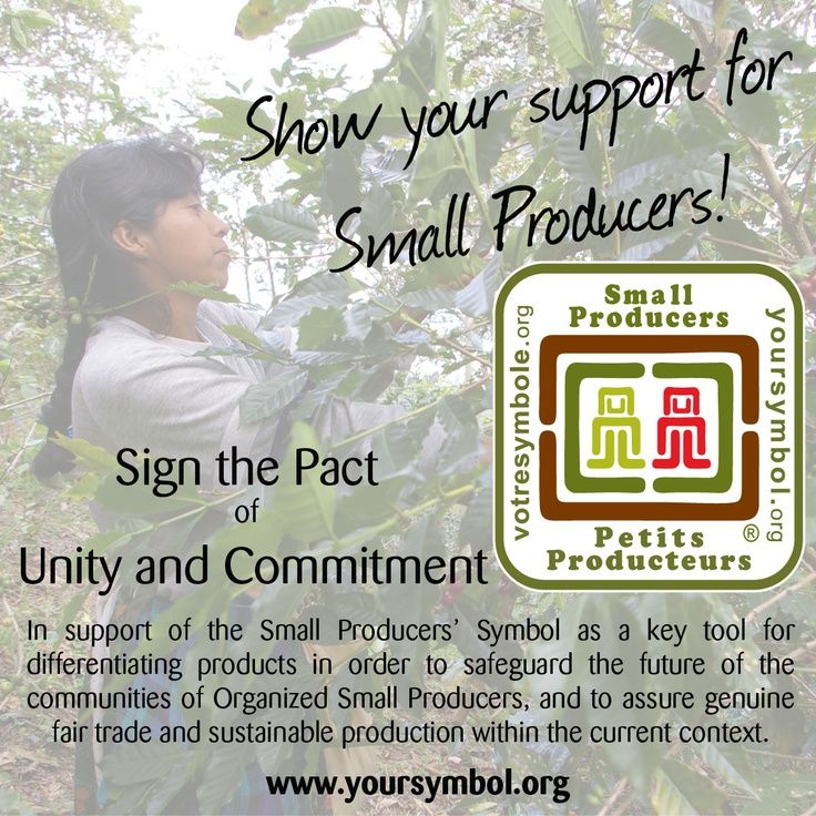 Sign the Pact of Unity and Commitment - support small producers!    Please re-pin!