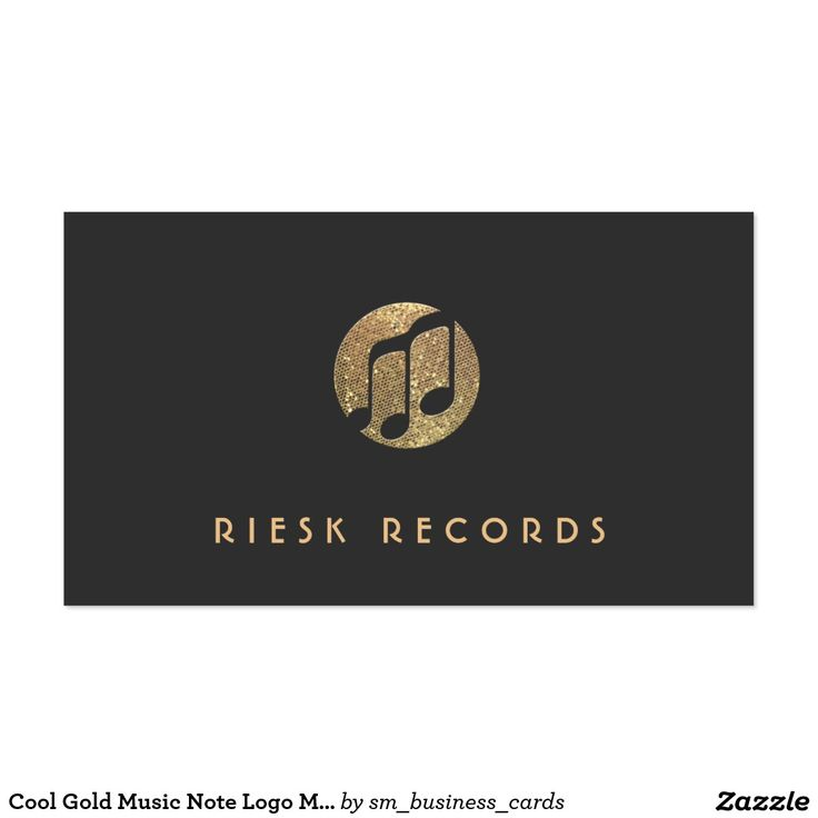 48 best Music Business Cards images on Pinterest | Carte de visite ...