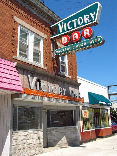 Victory Bar.....South Bend Indiana..... I don't remember this but looks like it's been around as long as I have