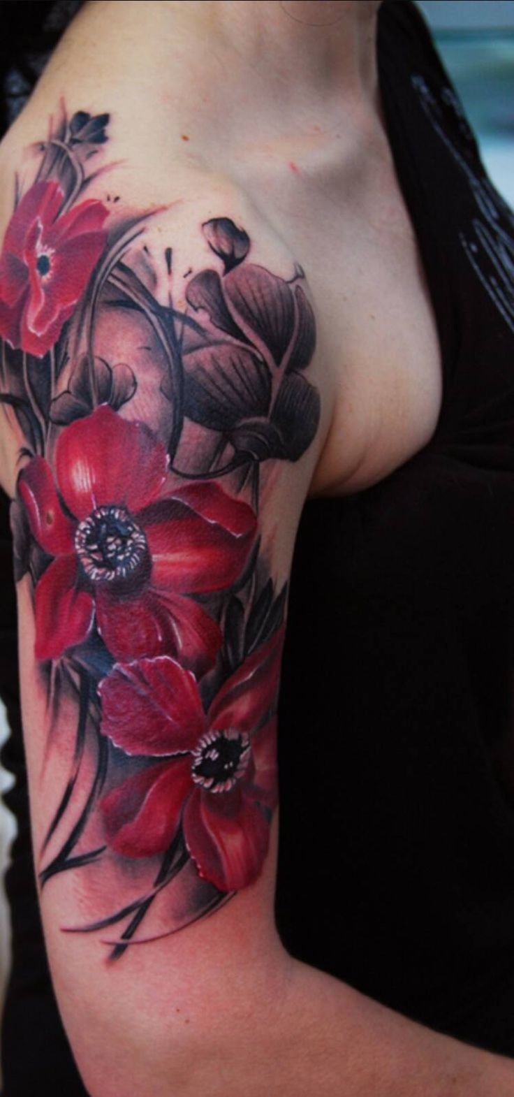 It's A Girl Thing #ItsAGirlThing Floral Flowers Tattoos TheBERRY TheBERRY WA