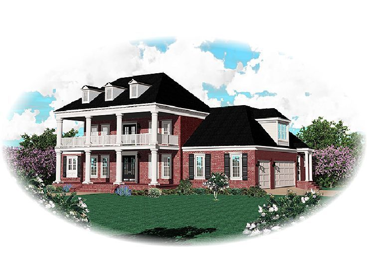 Southern plantation home plans designs.