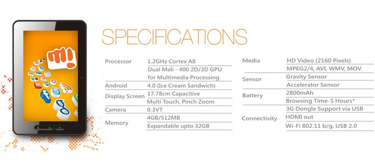 Micromax Funbook Specs!