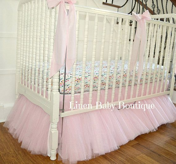 Best 25 Tulle Crib Skirts Ideas On Pinterest Crib