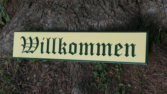 Willkommen Oktoberfest Outdoor PVC Board Sign