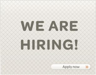 we are hiring... apply now