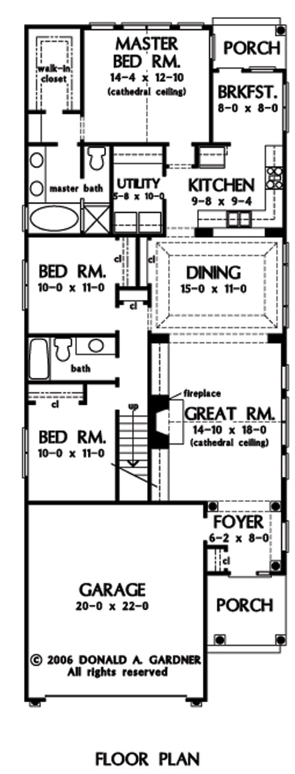 47 best house plans images on pinterest floor plans craftsman first floor plan of the crenshaw house plan number 1156